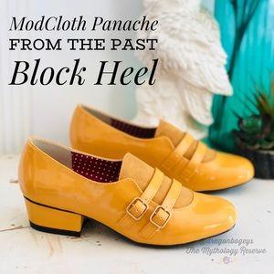 ModCloth Panache from the Past Block Heel